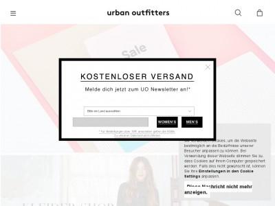 Urban Outfitters Gutschein Versandkosten