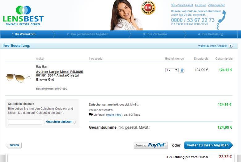 lensbest gutschein 20 euro