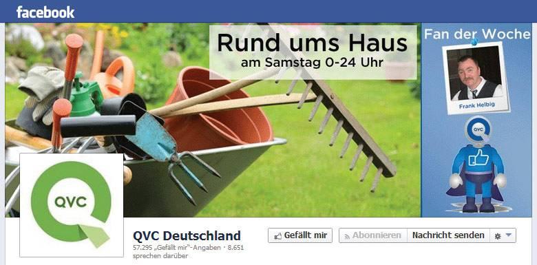 QVC bei Facebook