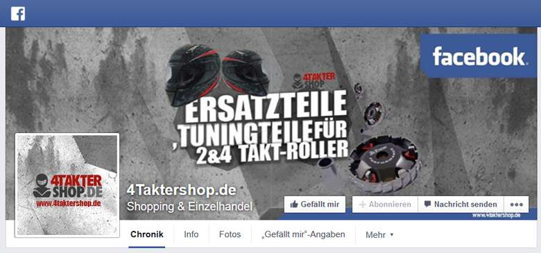4taktershop bei Facebook