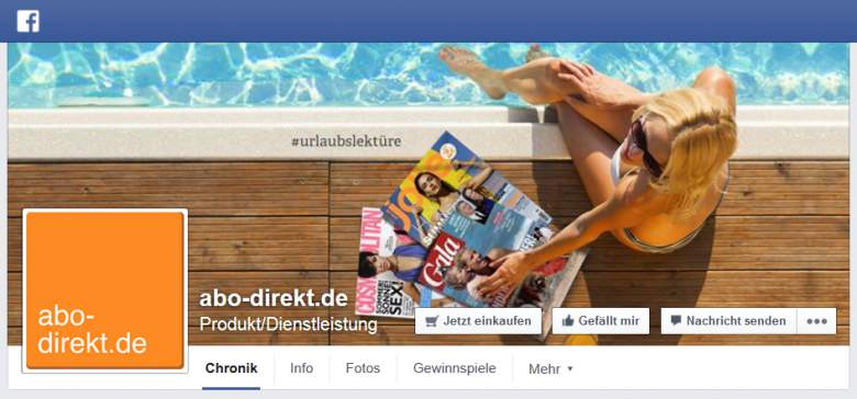 Facebook von Abo-Direkt