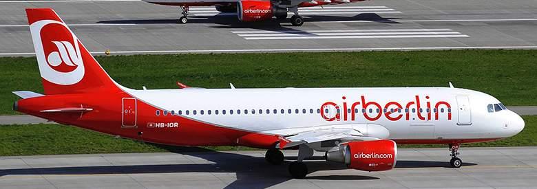 Flugzeug bei Airberlin