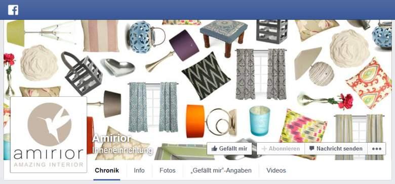Amirior bei Facebook