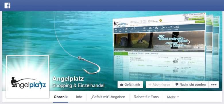 Facebook von Angelplatz
