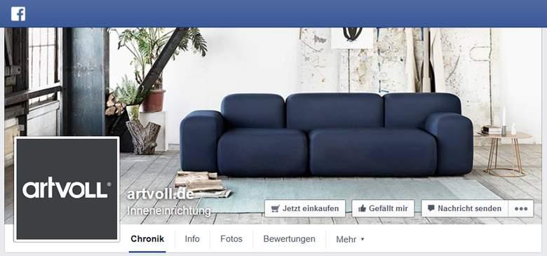 Artvoll bei Facebook