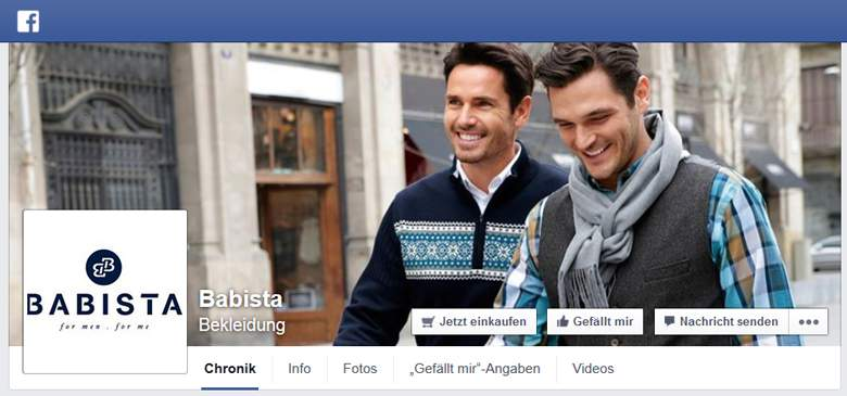 Babista bei Facebook