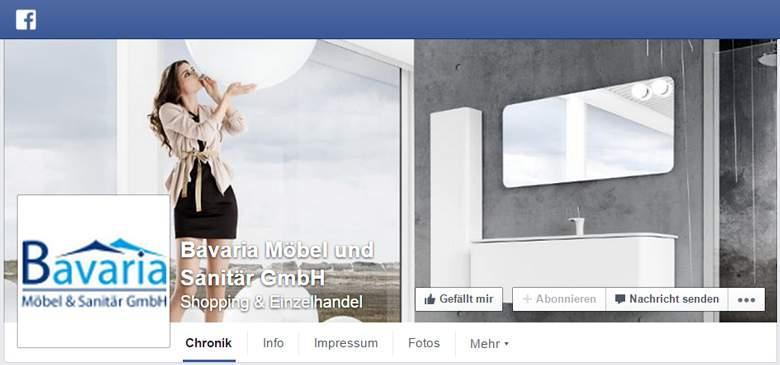 Badmöbeldirekt bei Facebook