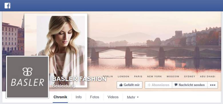 Facebook von Basler