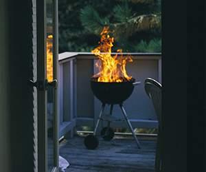 Balkonsgrill bei BBQexperte