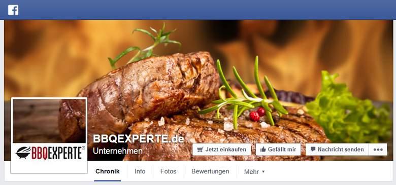 BBQexperte bei Facebook