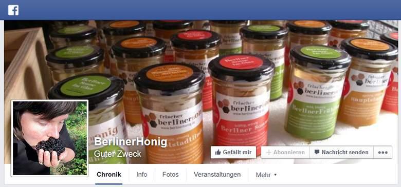 BerlinerHonig bei Facebook