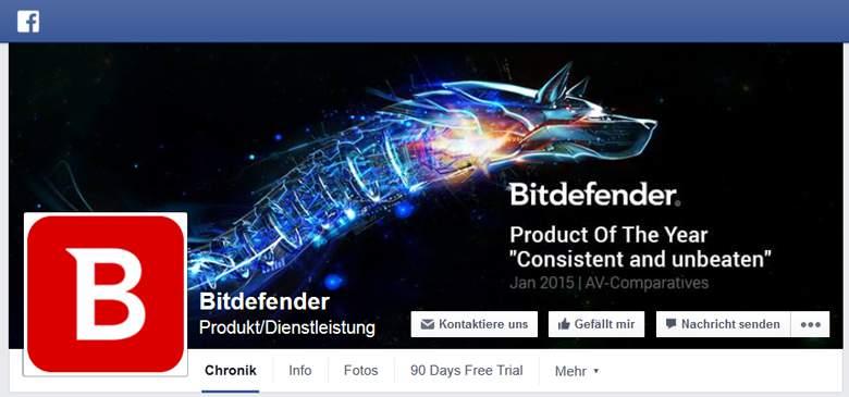 facebook von bitdefender
