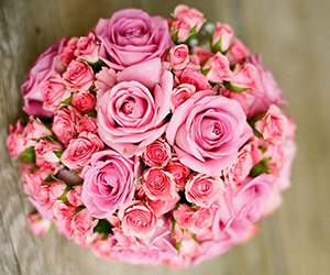 Brautstrauß bei Blume2000