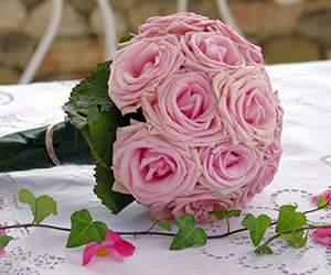 Brautstrauss bei Blumenfee