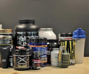 Supplements bei Body Attack
