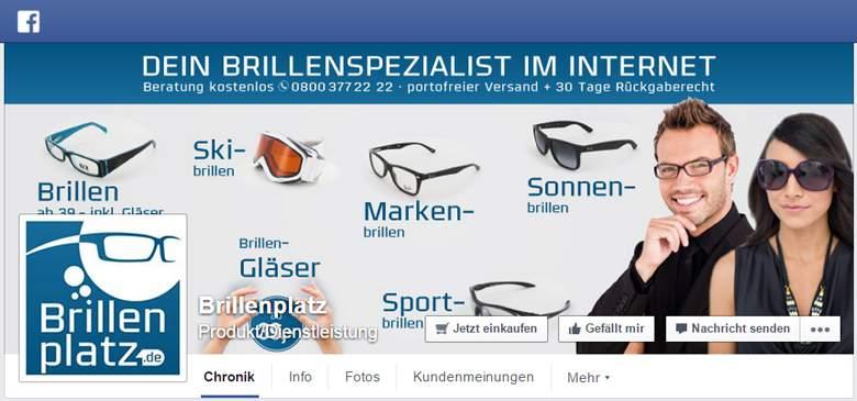 BrillenPlatz bei Facebook