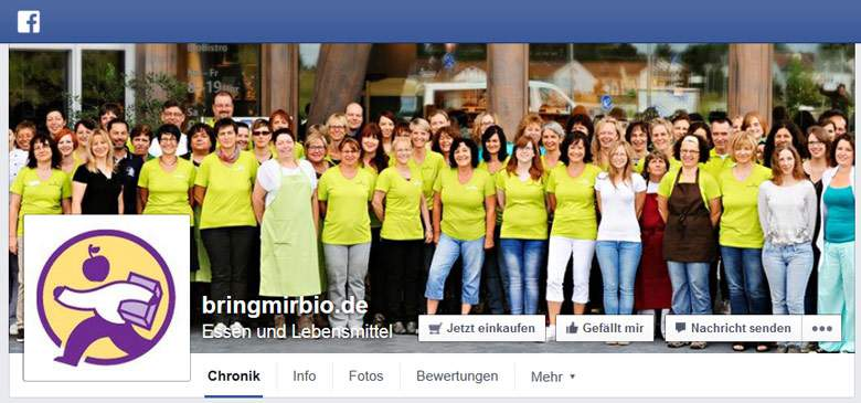 Facebok von Bringmirbio