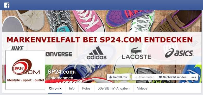 Facebook von SP24