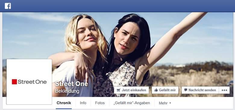 Street One Facebook