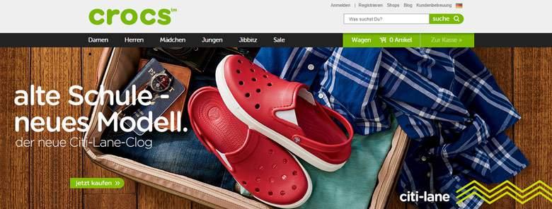 Crocs Shop