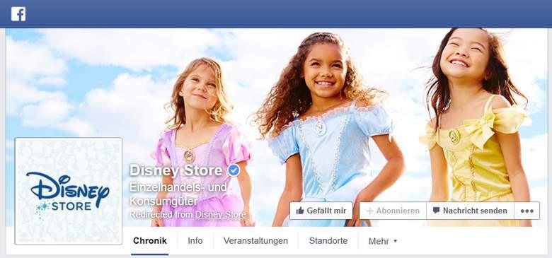 disney store facebook