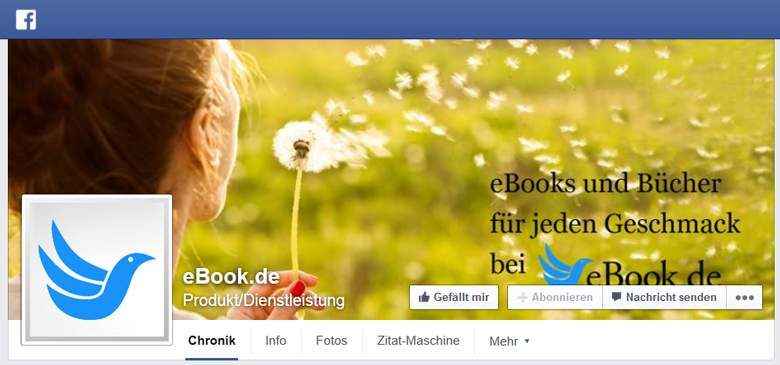 Facebook von eBook