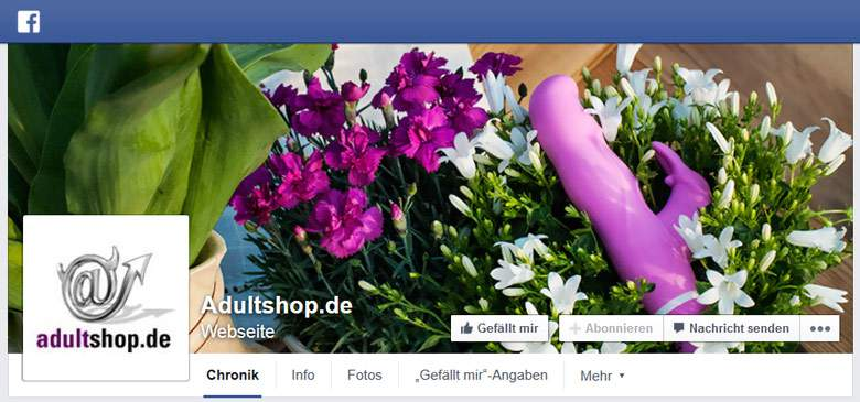 Facebook von Adultshop