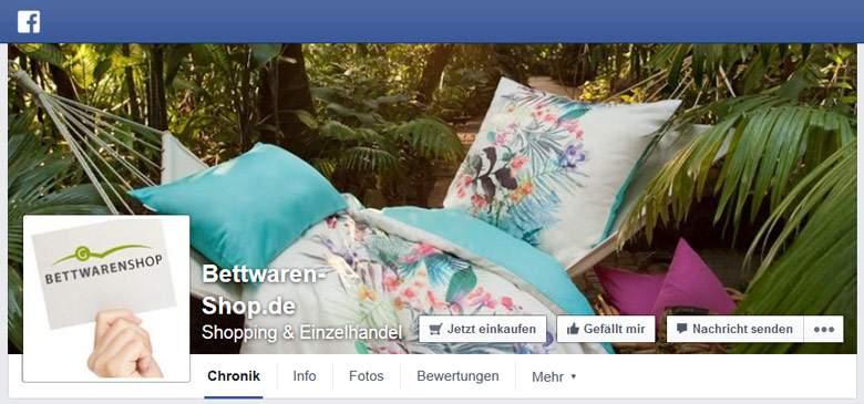 Facebook von Bettwaren-shop