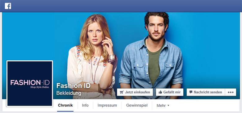 Fashion ID Facebook
