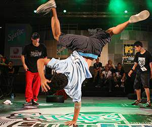 Breakdance Mode bei Hoodboyz