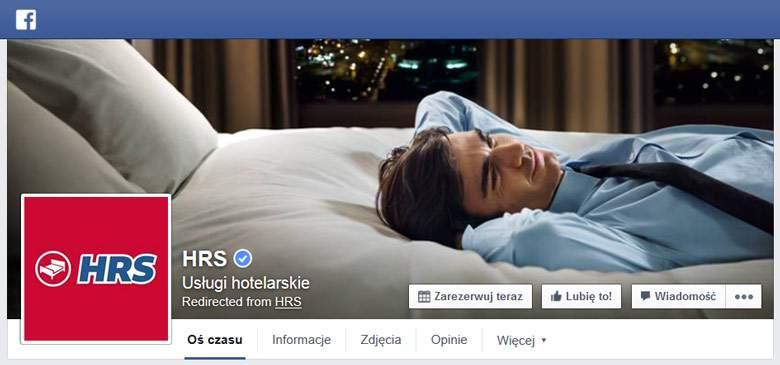 Facebook von HRS