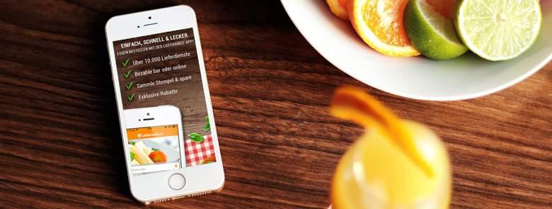 Lieferando App for iPhone