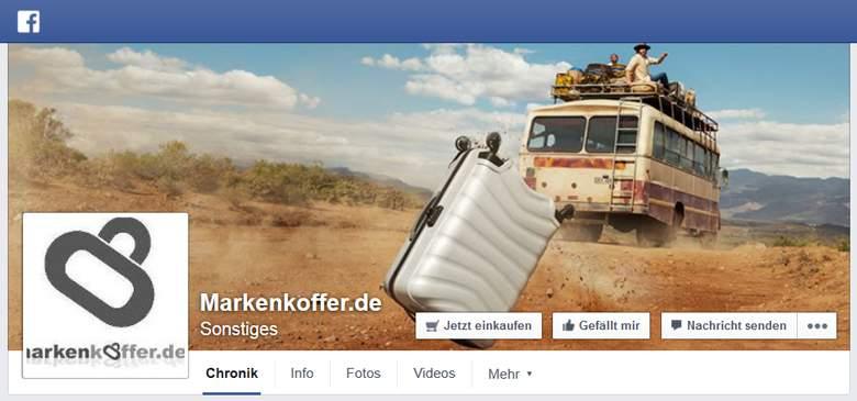 Facebook von MarkenKoffer