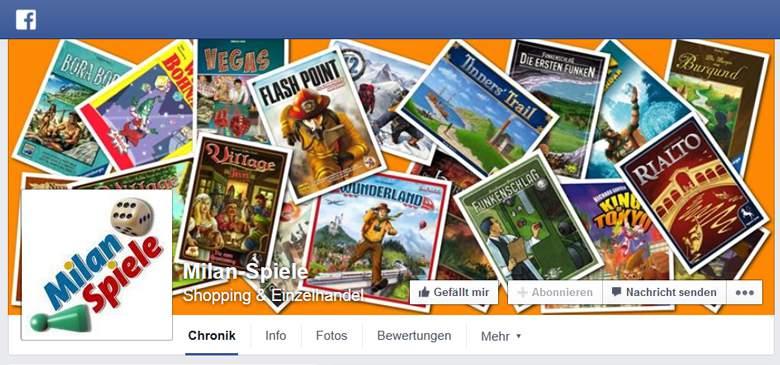 Facebook von Milan Spiele