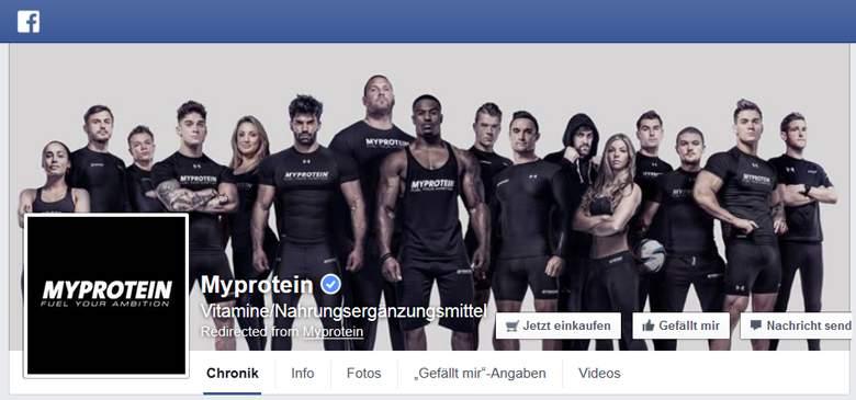 Myprotein Facebook