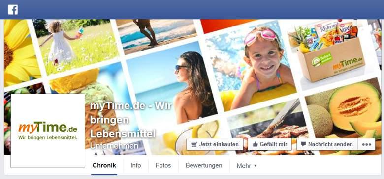 Facebook von myTime