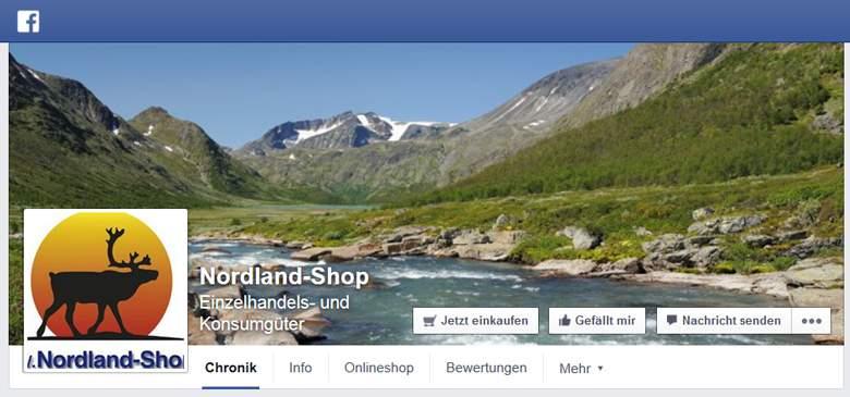 Facebook von Nordland-Shop
