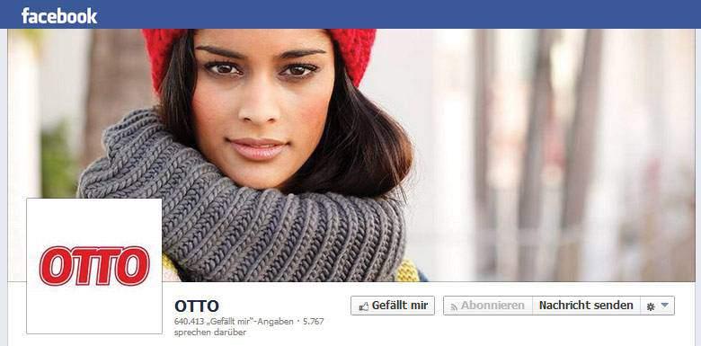 Facebook von Otto