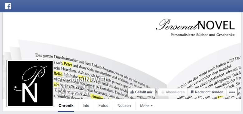 Facebook von PersonalNOVEL