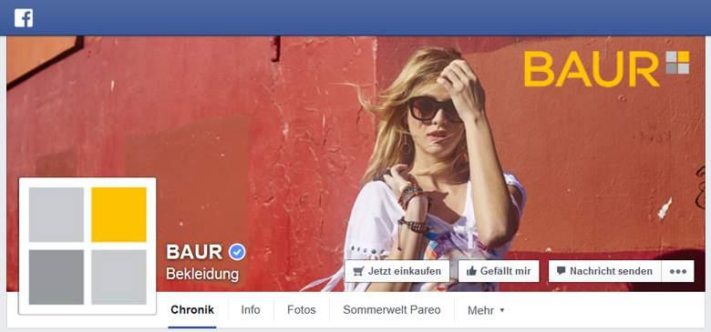 Facebook von Baur