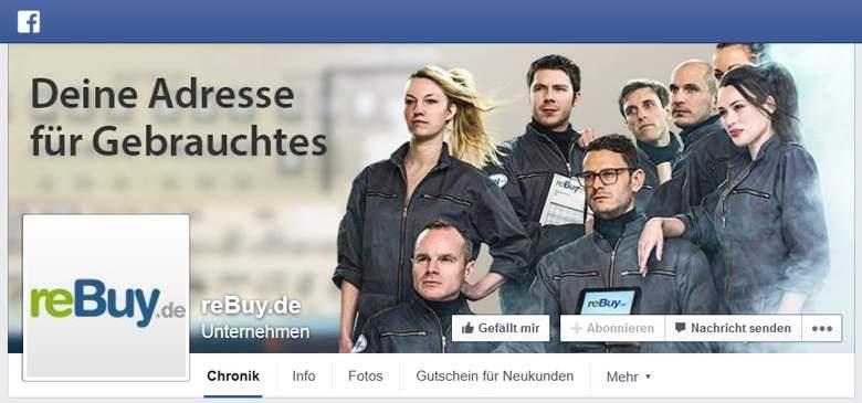 Facebook von reBuy