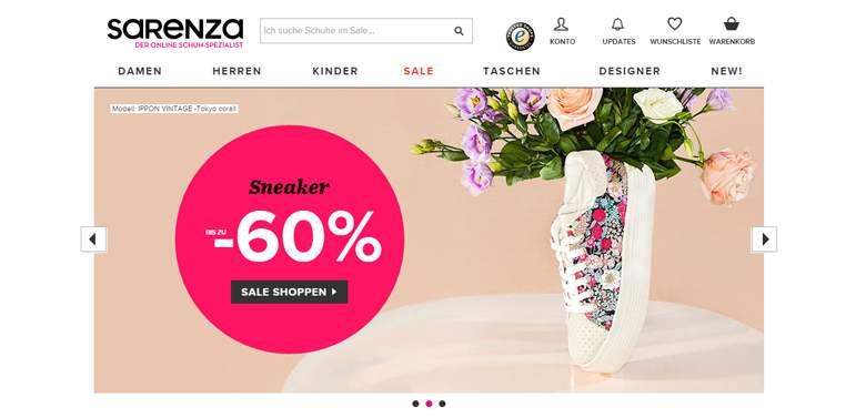 Sarenza Shop