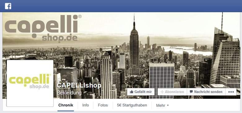 Capelli bei Facebook