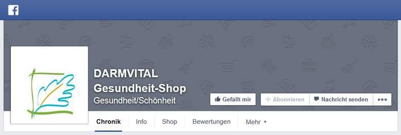 Darmvital bei Facebook
