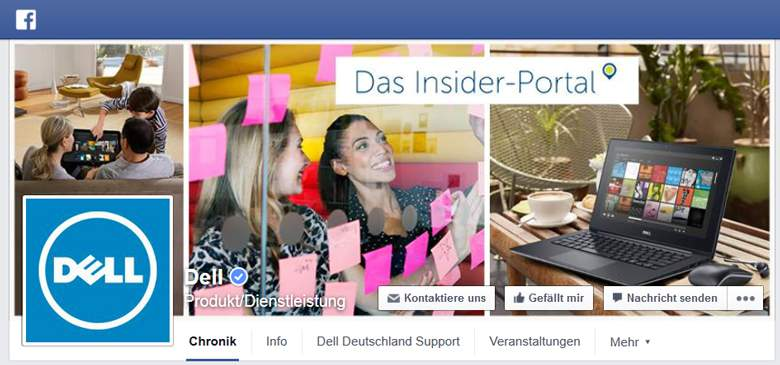 DELL bei Facebook