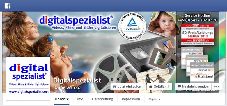 Digitalspezialist bei Facebook