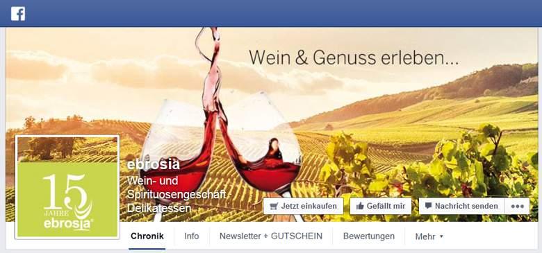 Ebrosia bei Facebook