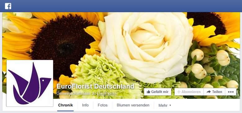 Euroflorist bei Facebook