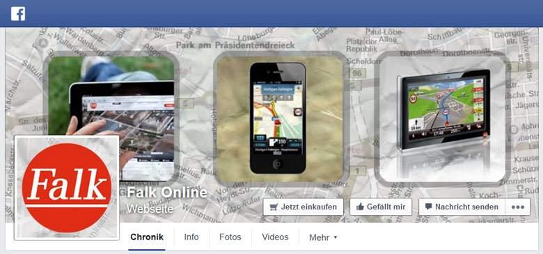 Falk bei Facebook