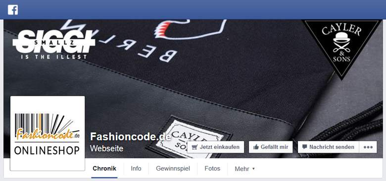 fashioncode bei Facebook